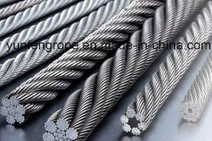 Hot DIP Galvanized Steel Wire Rope 7*19-32/5′′