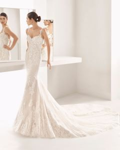 China Spaghetti Strap Sweetheart Mermaid Lace Bridal Gown Wedding Dress China Wedding Dress And Dress Price