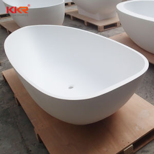 Small Solid Surface Freestanding Bathtubs for Indoor Bathroom pictures & photos