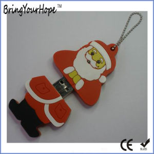 Leather PVC Santa Claus Style USB Flash Drive (XH-USB-037) pictures & photos