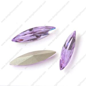 Capri Blue Navette Crystal Stone for Jewelry Accessories pictures & photos