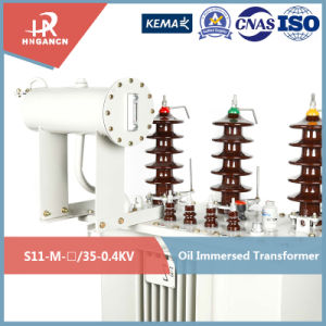 30kVA~4000kVA Large Capacity High Volatge New Design Power Distribution Transformer