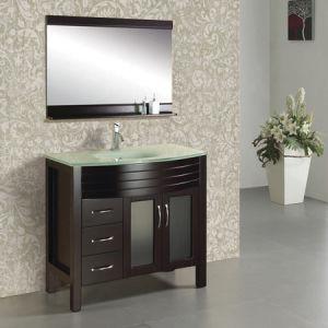 China Washroom Vanity Unit Glass Top Bathroom Vanities Ml 8103