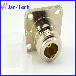 N Female to SMA Male Flange Adapter