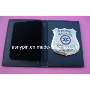 Pewter Sheiff Badge in PU Wallet pictures & photos