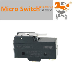 15A 250V Micro Limit Switch Z15-GW21-B pictures & photos