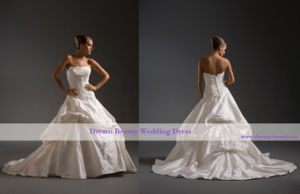 Wedding Dress & Bridal Gown (Hs49-Mic)