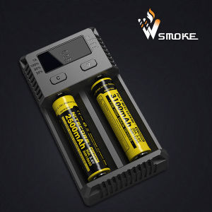 18650 Battery Charger 2 Way of Charging DC/AC Nitecore I2 Li-ion Battery Charger
