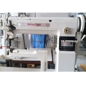 Used Korean Mellow Light Transformable Normal/Curved High-Postbed Sewing Machine (KW505B) pictures & photos