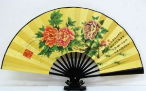 Silk Cloth Folding Fan