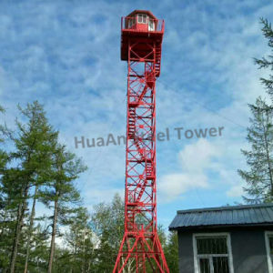 Galvanized Steel Look out Tower