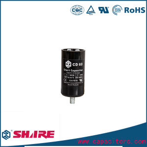 CD60 Capacitors for Single-Phase Electric Motors, Electrolytic Capacitors pictures & photos