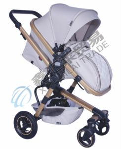 En1888 Approved High Standard Baby Stroller with Luxury Design