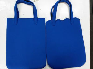 Waterproof Light Weight Neoprene Shopping Bag Handbag Shoulder Bag Tote Bag pictures & photos