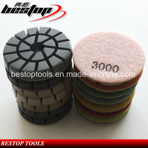 Concrete Polishing Floor Pads for Dry Polishing pictures & photos