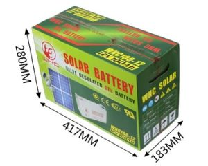 Whc 12V100ah Tesla House Batteries for Solar Power Roof pictures & photos