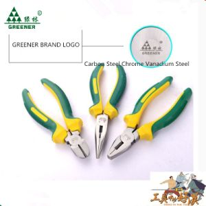 Labor-Saving Combination Pliers with Eccentric Rubber Handle