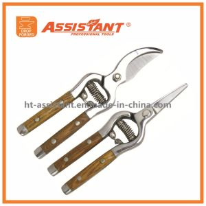 Garden Scissors Hand Secateurs Branch Pruners Forged Bypass Shear