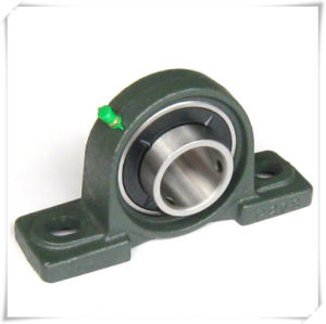 "4-Bolt Square Flange Ucf 1-1/8"", 1-3/16"", 1-1/4"" Pillow Block Bearing Ucf200 Series, Ucf300 Series"