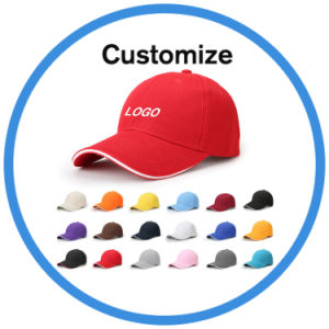 Wholesale Leather Trendy 6 Panel Baseball Cap with Logo pictures & photos