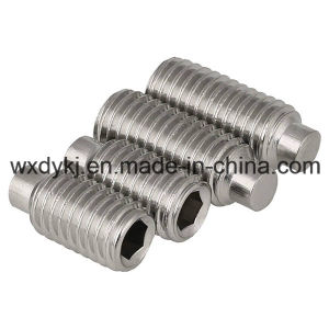 DIN 915 Stainless Steel Hexagon Socket Set Screw with Dog Point pictures & photos