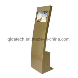 19 Inch Floor Stand LCD Advertising Display with IR Touch and Android System pictures & photos