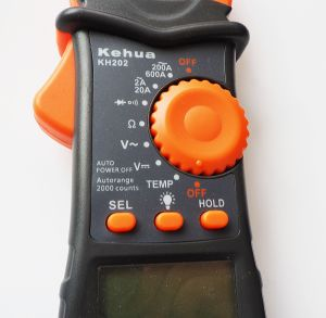 Digital Clamp Meter (KH202) with Ce Certified pictures & photos
