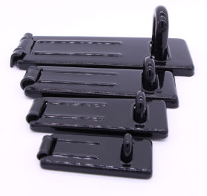 Matt Black Painting Hardened Steel Hasp with Hardened Steel Locking Eye pictures & photos