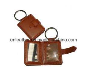 Luxury Business Gift Leather Key Ring Keychain for Man