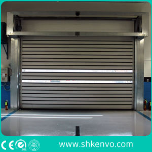 High Performance Aluminum Alloy Metal Overhead Rolling Shutter Doors pictures & photos