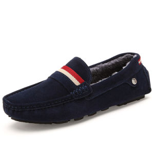 Casual Shoes Flat Leather Fashion Comfortable Men Driving Shoe (AK1317-1) pictures & photos