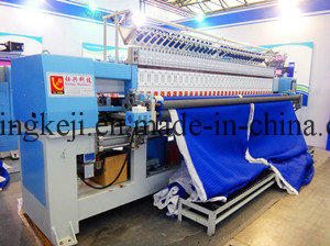 Industrial Computer Quilting Embroidery Machine for Garments, Bags, Shoes pictures & photos