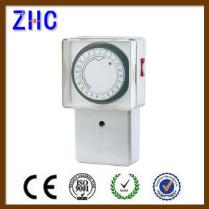 New China Products 24 Hours IP20 Mechanical Wall Mounted Switched Timer pictures & photos