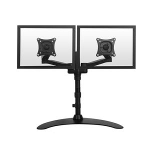 Two Arms Monitor Table Mount for 24""