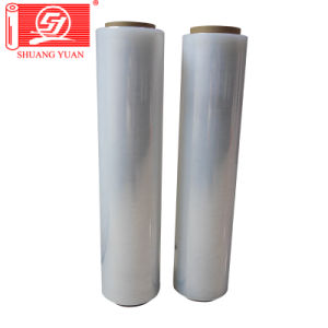 Waterproof Factory Direct LLDPE Hand Wrap Stretch Film Pallet Packing Film pictures & photos