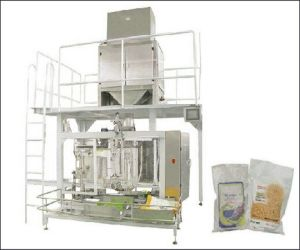 Biscuit Packing Machine with Sewing Machine pictures & photos