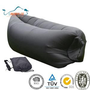 2017 New Design Convenient Inflatable Lazy Beach Sleeping Bag