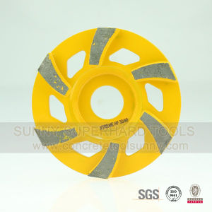 Helix Segment Type Concrete Grinding Wheel pictures & photos