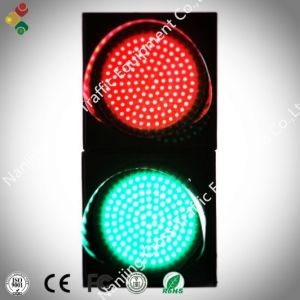 300mm Cobweb Lens Red and Green Traffic Light