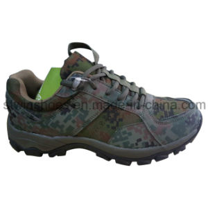 Camouflage Color Outdoor Sports Trekking Shoes for Men / Women