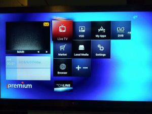Low Power Consumption DVB and IPTV STB Ipremium I9 pictures & photos