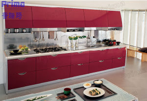 Factory Price Acrylic Kitchen Cabinet with Aluminium Kitchen Cabinet Doors pictures & photos