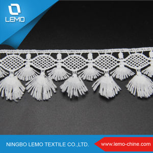 Fashion Water Soluble Cotton Embroidery Fabric Lace