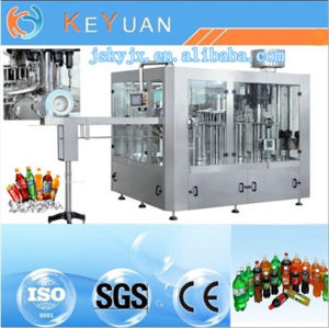 Auto Orange Juice Filling Machine Three in One Monoblock pictures & photos