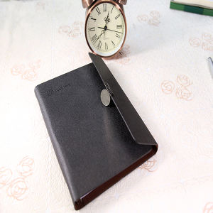 2016 PU Leather Cover Notebook New Design pictures & photos
