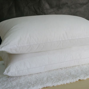 White Microfiber Pillow Factory with Cheap Price (DPF9087) pictures & photos