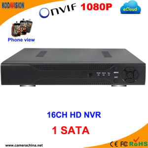 16 Channel H. 264 Onvif 1080P NVR HDD SATA CCTV pictures & photos
