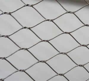 Stainless Steel Ferrule Rope Mesh Lion Cage Mesh Fence pictures & photos