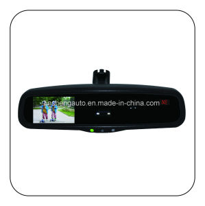"Auto-Dimming Rearview Mirror with TFT/LCD 4.3"" Monitor, Compass Display pictures & photos"