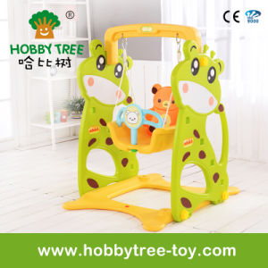 2017 Deer Style Cheap Baby Swing Toys with Ce Certification (HBS17007B)